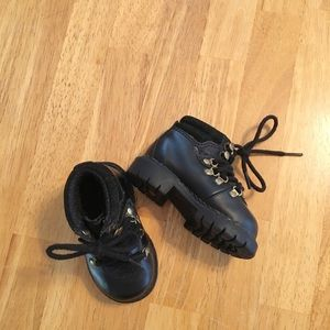 Lugz Shoes - Lugz Kids Black Buckled Boots Size 3